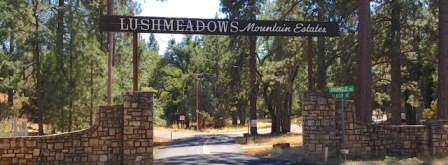Lushmeadows Restored Sign